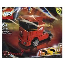 100 Ferrari Truck Weiyiks Lego Shell 30191 Scuderia Polybag