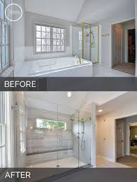 Small Bathroom Remodels Before And After by Best 25 Master Bath Remodel Ideas On Pinterest Master Bath