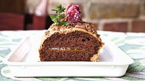schoko baumstamm kuchen einfach wohlschmeckend