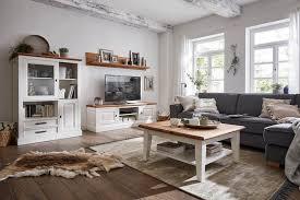 wohnwand landhausstil massiv innatura massivholzmöbel