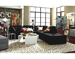 living room gray sofa and loveseat makonnen charcoal signature