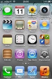 iPhone 4S first screenshot by deviantgiak on DeviantArt
