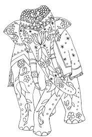 21 Elephant Mandala Coloring Pages 8915 Via