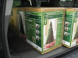 Unlit Artificial Christmas Trees Walmart by Christmas Tree 9 Ft Christmas Lights Decoration