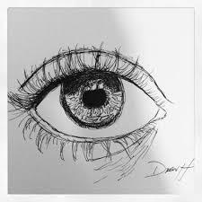 Easy Drawing Ideas Eyes Lovely Art Drawings Ink Pen Sketch Eye Pinterest