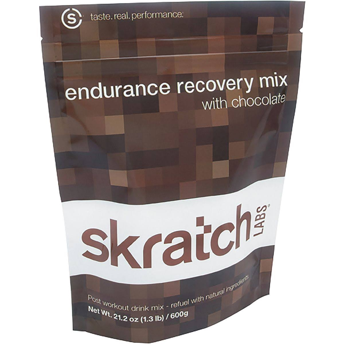 Skratch Labs Endurance Recovery Mix Sport Supplement - Chocolate, 1.3lb