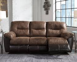 Hogan Mocha Reclining Sofa Loveseat by Follett Brown Reclining Sofa By Ashley Furniture