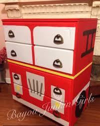 Fire Trucks Crib Bedding Fresh Fire Truck Dresser Painted In 9 ...