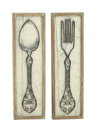 Wooden Fork And Spoon Wall Decor by Wall Ideas Classic Country Bathroom Wall Decor Wall Ideas For