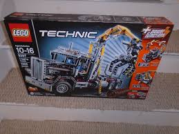 LEGO Technic Logging Truck (9397) | EBay Ebay Knuckle Boom For Sale Crane Series Lusocom 2004 Freightliner Fl80 Boom Bucket Crane Truck For Sale Auction Bangshiftcom 1957 Chevy Shorty Wagon On Right Now Wrecker Tow Truck 1988 Peterbilt 357 20 Ton Challenger Zacklift 303 1978 Gmc Astro Cabover Semi Ebay Is Adding Visual Search To Its Mobile App Theres An M816 6x6 Recovery Vehicle Trucks Cmialucktradercom 1955 Chevrolet N 4100 Towmater Wrecker Sturdibilt Auctions