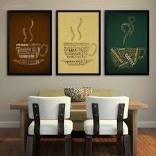 Office Wall Frames Retro And Nostalgic Coffee Poster Canvas Art Print Decor Bar