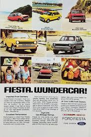 100 A1 Truck And Auto 1979 Ford Fiesta Mobile Vintage Ad Families Dog In Cars