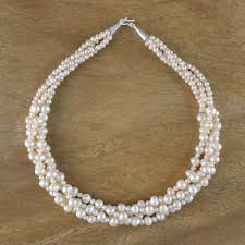 100 Pearl Design Handmade Necklace From Thailand S For A Princess