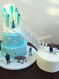 frozen castle cake cake couture fondant available on etsy