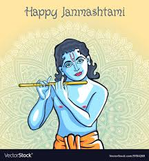 100 Krisana Hindu Young God Lord Krishna Happy Janmashtami