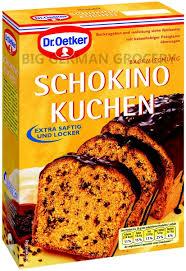dr oetker kuchen mix schokino kuchen big german grocery