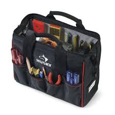 100 Husky Truck Toolbox Home Depot 14 In Large Mouth Tool Bag YMMV In Store Only