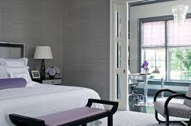 schlafzimmer grau mit lila akzenten freshouse