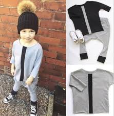 Aliexpress Buy 7sets Lot Toddler Girls Trendy Children Clothing Kids Sets Letters Shirt Pants Harem Baby Boys Set 0703 Sylvia 45785096543 From