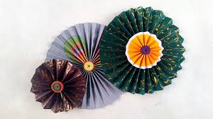 Picture Of DIY Paper Crafts How To Make Simple Rosettes