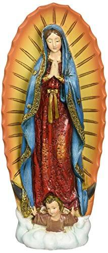 Renaissance Collection Joseph's Studio by Roman Exclusive Figurine - Our Lady of Guadalupe, 7.25""
