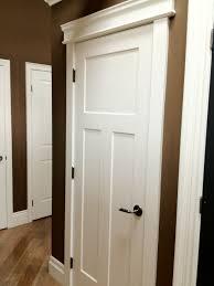Craftsman Door And Molding trim Interior Barn Doors Craftsman