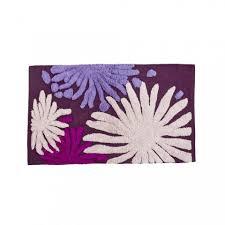 cipì badezimmer 2 teppichboden set 100 baumwolle splash lila