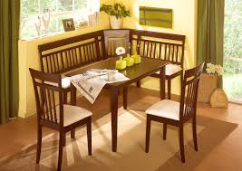Corner Kitchen Table Set With Storage by High Noon Corner Nooks And Dining Sets