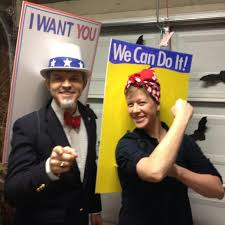 Rosie The Riveter Halloween Diy by Halloween Costumes Oh No Might Actually Have To Do This One