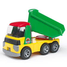 Bruder Toys Roadmax Dump Truck With Tilting Trough For Kids 2+ ...