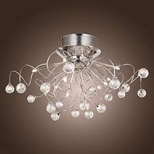 lightinthebox modern chandelier with 11 lights chrom