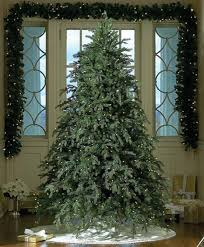 Slim Pre Lit Christmas Trees by 7 5 U0027 Pre Lit Downswept Hunter Fir Full Artificial Christmas Tree