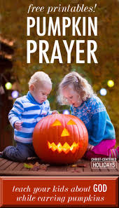 Christian Pumpkin Carving Stencils Free by How To Teach Your Kids The Pumpkin Prayer Free Printable