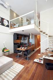 Contemporary Loft Bedroom Decor