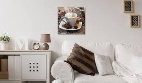 acrylglasbilder bild deko glas glasbild kaffee küche coffee