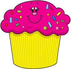 Birthday cupcake clipart 3