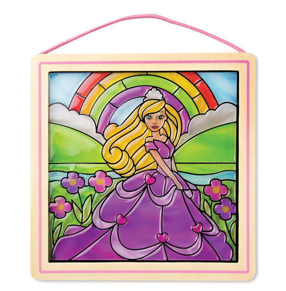 Melissa & Doug Stained Glass Made Easy - Princess