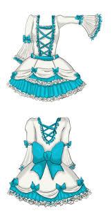 My Lolita Dress Design By Yuna Chicky Yummy