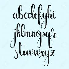 Fancy Writing Alphabet Jiodthclub
