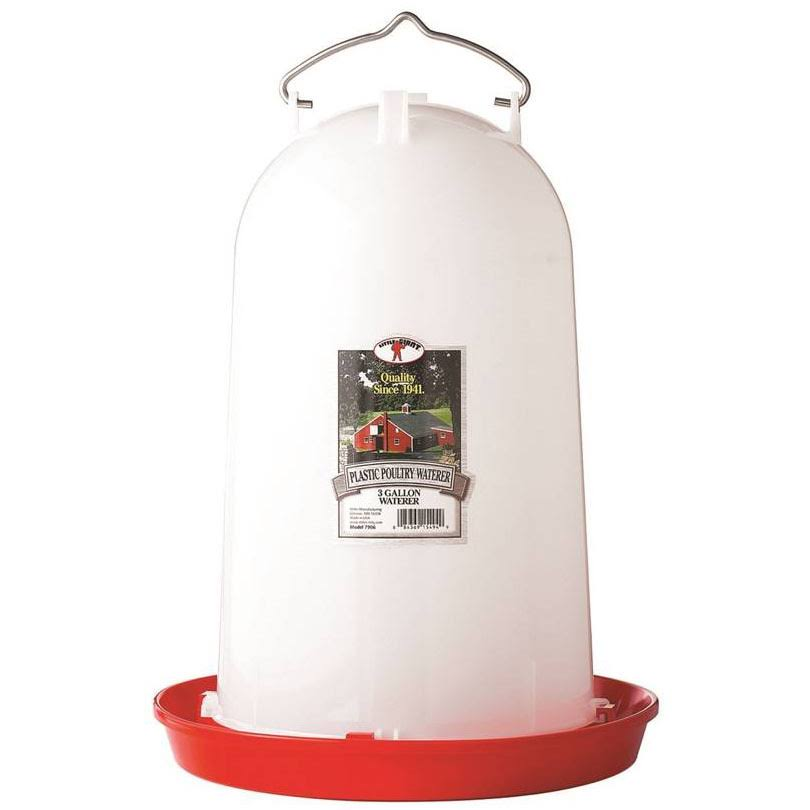 Little Giant Hanging Poultry Waterer - 3 Gallon