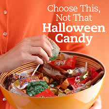 Halloween Candy Calories List by Choose This Not That Halloween Candy Diabetic Living Online