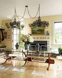 Lighting To Swag Chandelier Dining Room With Double Chandeliers Over Light Fixture Ceiling Hanging