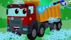 100 Videos Of Trucks Dump Truck Car Wash Kids Learn Transport Nursery