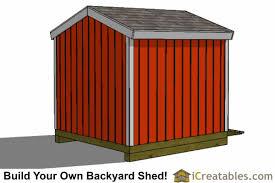 8x8 backyard shed plans icreatables com