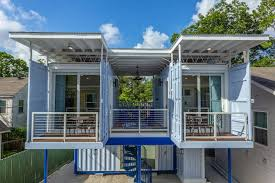 104 Shipping Container Homes In Texas East Downtown Micro Luxe Living Pod 9 S For Rent Houston United States