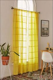Interiors Awesome Yellow Curtains Grey Walls Plum And Gray 118