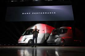 Tesla Electric Semi-Truck Revealed - Motor Trend This Electric Truck Startup Thinks It Can Beat Tesla To Market The Question Of Day Why Do Semi Trucks Have 18 Wheels Nikola Unveils How Its Works Custom Hydrogen Fuel Cell Hayes Trucksblast From Past Truckersreportcom Trucking New Freightliner Cascadia Is The Most Advanced Semitruck Ever Truck Transportation Delivery Youtube Electric Wikipedia Fuse Fuel Economy Rules For Heavy Duty Looking Enter Semi Business Starting With Attractive Headache Rack 10 Flatbed Trailer Headboard Tilting