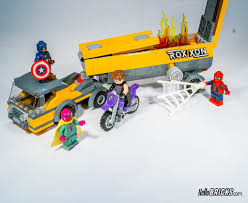Lego 76067 - Marvel Super Heroes - Tanker Truck Takedown | Flickr