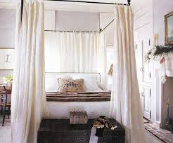 King Size Canopy Bed With Curtains by Full Size Canopy Bed Frame Wall Mounted Wooden Rectangle Headboard
