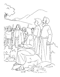 Bible Story Coloring Pages Printable